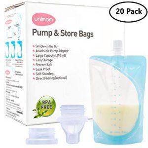 83 300x300 - کیسه ذخیره شیر یونی مام Unimom با رابط اتصال به شیردوش و سرپستانک
