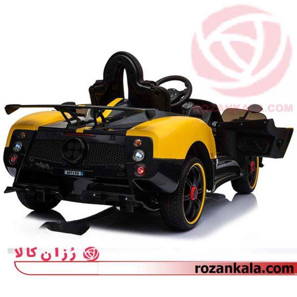 ماشین شارژی طرح پاگانی برند Zonda Cinque Roadster مدل M257