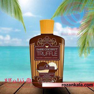 لوسیون برنزه کننده تنی مکس Tannymax Dark coconut truffle 200ml