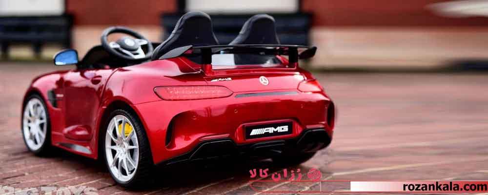 بهترین و لاکچری ترین ماشین شارژی مرسدس بنز AMG مانیتور دار