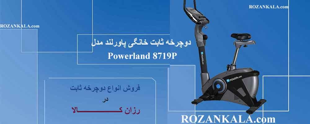 فروش دوچرخه ثابت خانگی پاورلند مدل Powerland ۸۷۱۹P