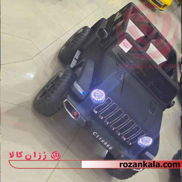 ماشین شارژی جیپ دو نفره مدل c110868