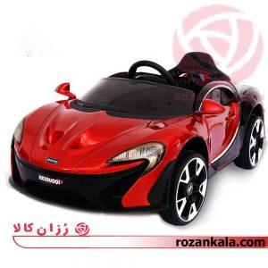 ماشین شارژی مک لارن متالیک قرمز