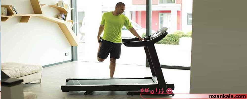 ورزش با تردمیل