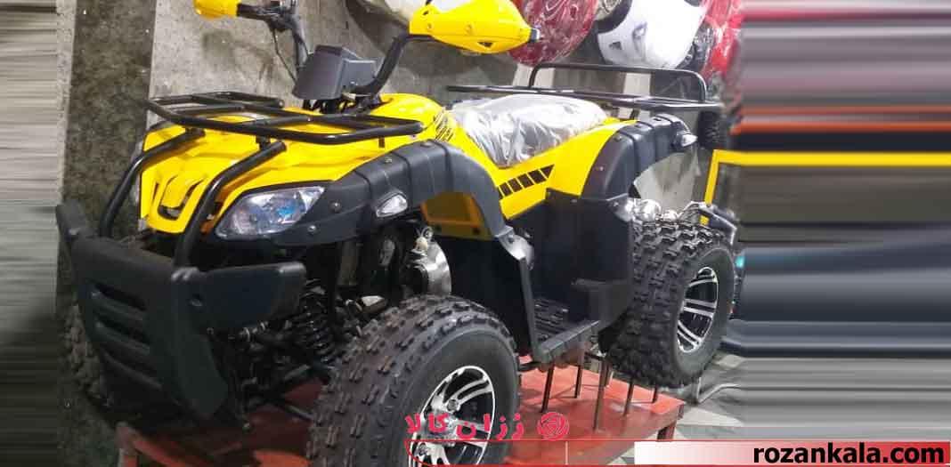 موتور چهار چرخ ساحلی بزرگ ATV 582000-رنگ زرد