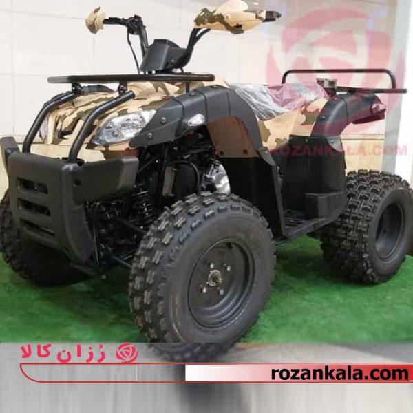 موتور چهار چرخ-200cc مدل جیپی چرخ بزرگ مدل چریکی