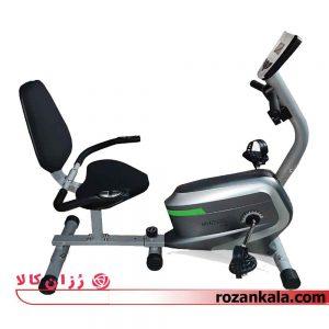 دوچرخه ثابت پشتی دار و نشسته ای ام اچ فیتنس مدل EMH FITNESS 6300