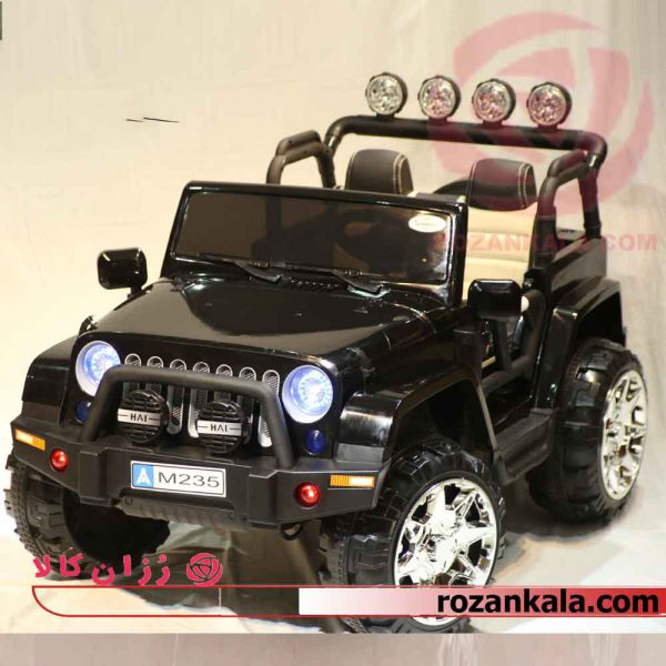 ماشین شارژی جیپ مدل M235 Jeep Warangler