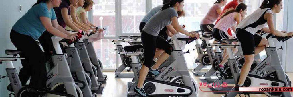 ورزش و لاغری با اسپینینگ