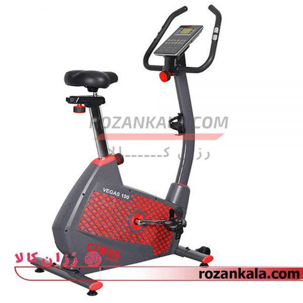 دوچرخه ثابت ایستاده کراس فیتنس مدل VEGAS 100