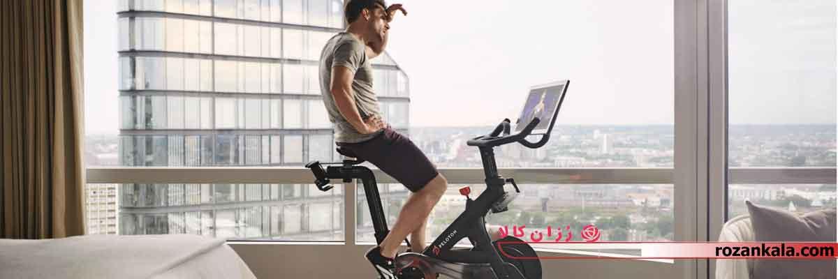 ورزش با دوچرخه ثابت