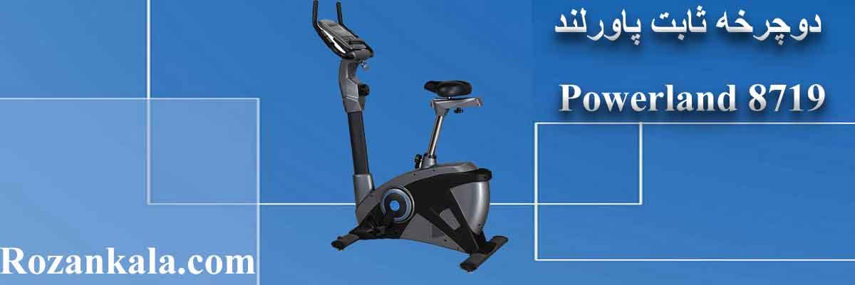 فروش دوچرخه ثابت پاورلند Powerland 8719