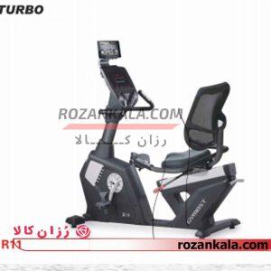 دوچرخه ثابت مبله توربو فیتنس turbo fitness R11