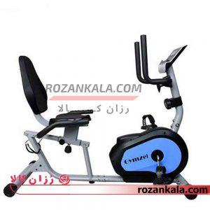 دوچرخه ثابت خانگی پشتی دار GYMZEL مدل K8330-R1