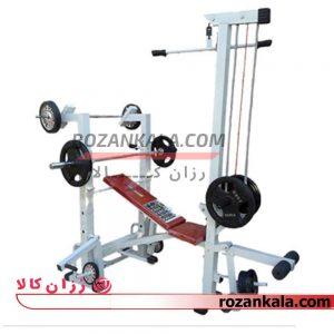 دستگاه بدنسازی 36 کاره برند RK fitness-رزان کالا