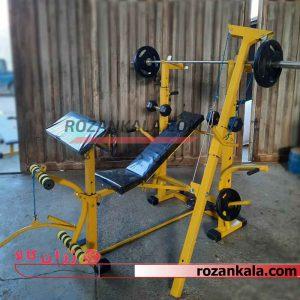 دستگاه بدنسازی 14 کاره برند RoK fit